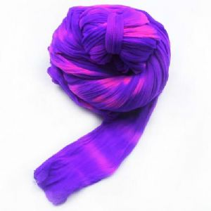 Two colours Specially dyed nylon, Nylon, Dark purple, purple, Stretched Size per piece 1.5m x 15cm, 4 pieces, [SWW0525A]